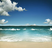 лето моря Стоковые Фото