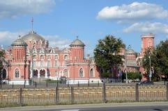 Лето Москвы дворца Petroff стоковое изображение rf