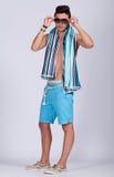 Лето молодого человека стоковые изображения rf