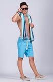 Лето молодого человека стоковые фотографии rf
