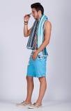 Лето молодого человека Стоковое Изображение