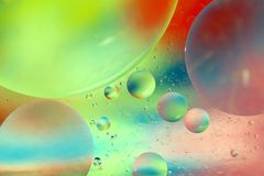 лето мыла пузырей Стоковое Изображение