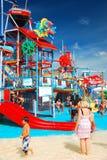 Лето на аквапарк Стоковое Изображение RF