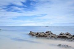 Лето на побережье стоковая фотография rf