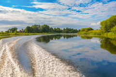 Лето на реке Стоковые Фото