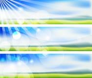 лето нерезкостей знамен Стоковое фото RF