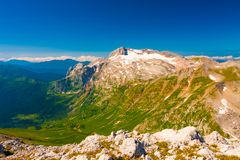 Лето дня горы Стоковое Фото