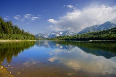 лето отражений Стоковое Фото
