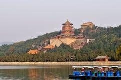 лето павильона дворца Пекин буддийское Стоковое Изображение RF