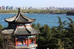 лето павильона дворца Пекин Стоковые Фото