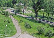 лето парка дома Стоковое Фото