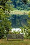 лето парка озера стенда Стоковое Изображение RF