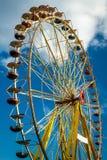 лето парка funfair стоковое фото rf