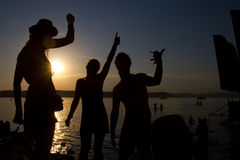 лето партии Стоковые Фото