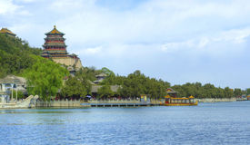 лето Пекин дворца фарфора Пекин Стоковая Фотография RF