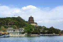 лето Пекин дворца фарфора Пекин Стоковые Фотографии RF