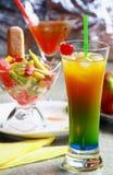 лето питья рекреационное Стоковая Фотография