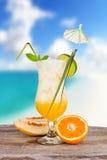 лето питья Стоковые Фотографии RF
