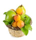 лето плодоовощ корзины Стоковая Фотография RF