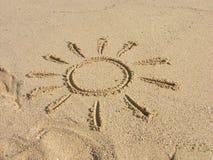лето пляжа Стоковое Изображение