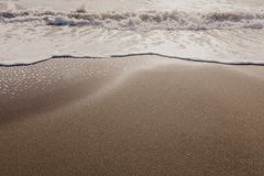 Лето, пляж и море стоковые изображения rf