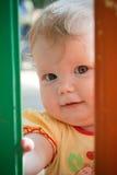 лето портрета ребёнка напольное стоковое фото