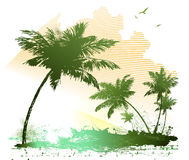 лето предпосылки Бесплатная Иллюстрация