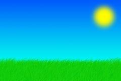 лето предпосылки Стоковое Изображение RF