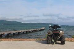 Лето природы и atv 4Ã-4 стоковая фотография rf