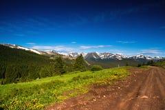 лето пропуска горы colorado Стоковое фото RF