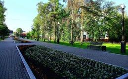 лето России парка irkutsk Стоковые Изображения RF