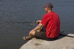 Лето рыбной ловли Стоковые Фото