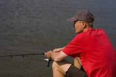Лето рыбной ловли Стоковое фото RF