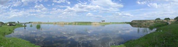 лето рыболовства Стоковое Изображение