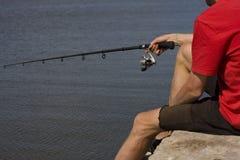 Лето рыболовства Стоковое Изображение RF