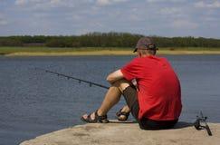 Лето рыболовства Стоковая Фотография RF