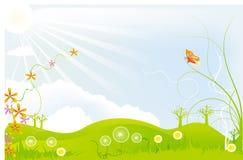 лето сада Стоковое Изображение RF