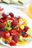 лето салата освежения плодоовощ Стоковое Изображение RF
