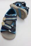 лето сандалии малыша стоковые изображения rf