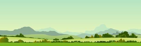 лето сезона страны знамени иллюстрация штока