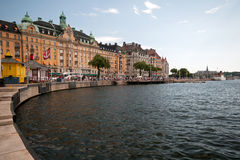 Лето Стокгольм, Швеци стоковая фотография rf