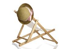 лето сторновки шлема палубы стула вися Стоковые Фото