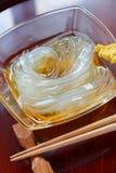 лето студня gelidium еды японское tokoroten Стоковая Фотография
