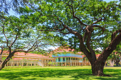 лето тайский Таиланд дворца hua hin королевское Стоковые Фотографии RF