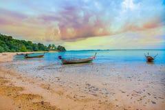 Лето, тропический климат, Ko Lanta, провинция Krabi, юговосточная как стоковое фото rf