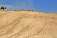 лето холмов присицилийское Стоковое Изображение RF