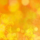 Лето цветет предпосылка с bokeh иллюстрация вектора