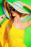 Лето шляпы Стоковое Фото