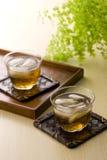 лето японца питья Стоковое Изображение RF