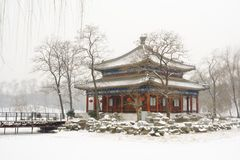 лето дворца Пекин старое Стоковое фото RF
